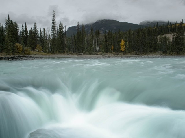 Athabasca Falls- Implosion
