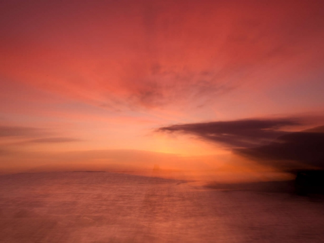 Saltwick Bay - Abstract Sunrise