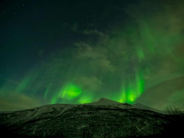 Aurora Spectacular I near Setermoen