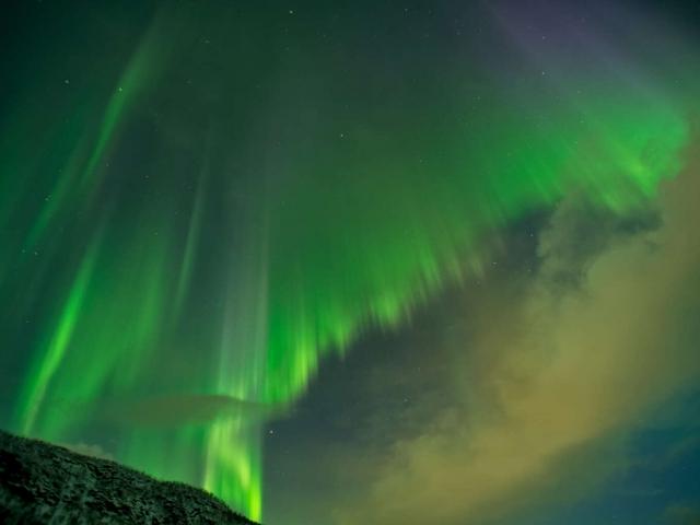Aurora Spectacular II near Setermoen