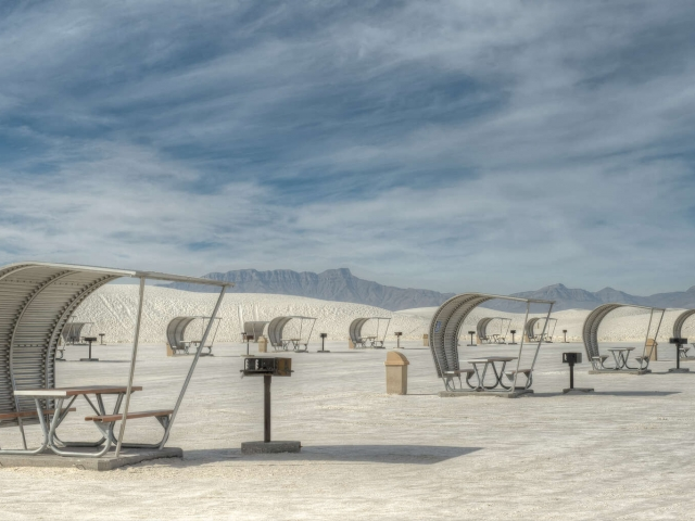 Barbecues at White Sands