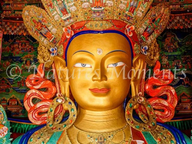The Maitreya Buddha, Thiksey Monastery