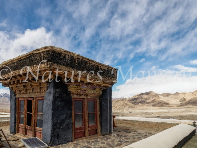 Top of the Thiksey Monastery