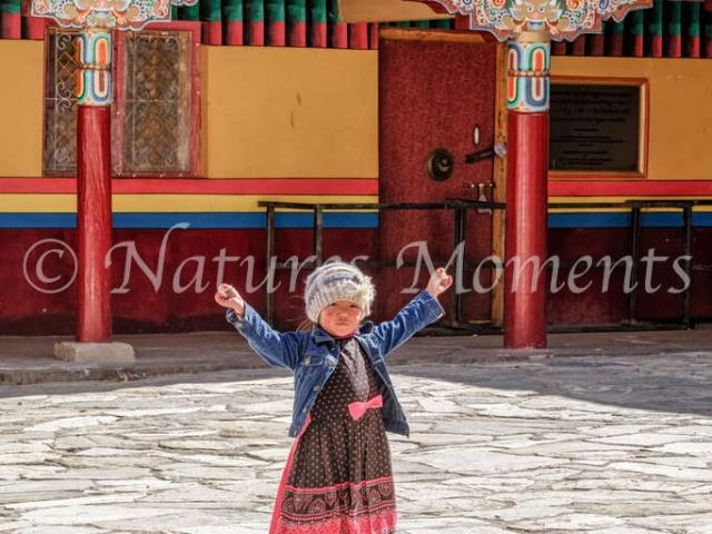 Little Girl, Hemis Monastery