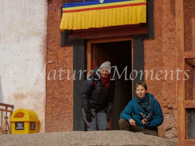 Elaine and Anne, Matho Monastery