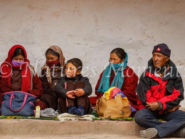 Family Group, Matho Monastery
