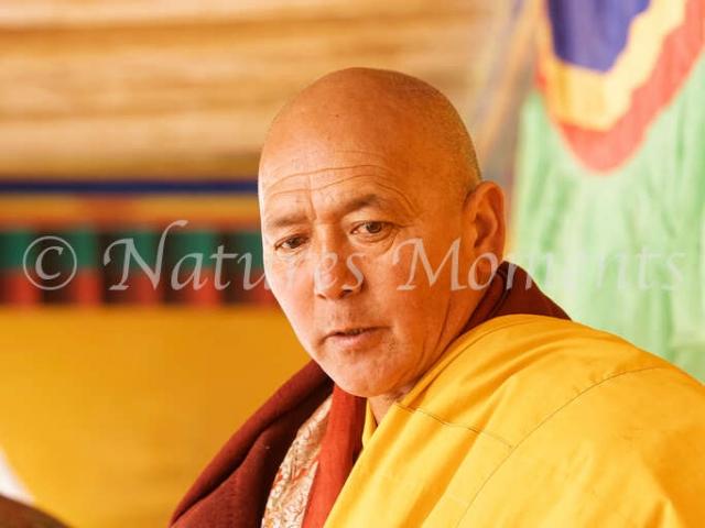 Buddhist Monk, Matho Monastery
