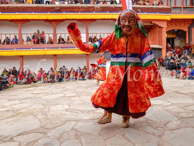 Dancer, Matho Monastery