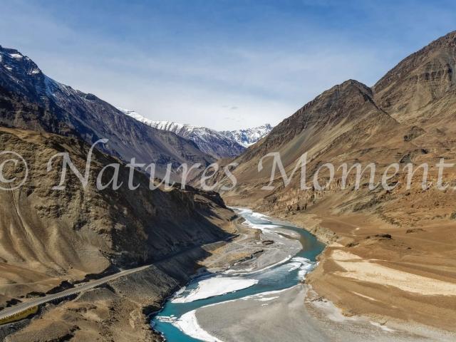 Indus River, Srinager - Leh Highway