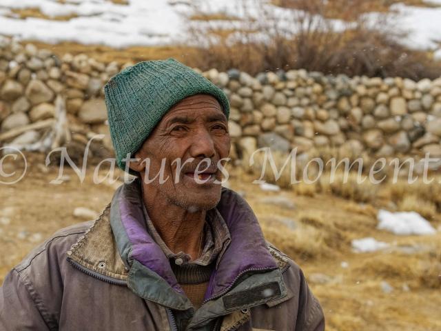 Ladakh Man - Happy Farmer